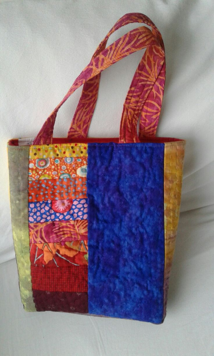 Hand quilted bag 31 x 26 x 7 cm R350 ph 082 339 1985