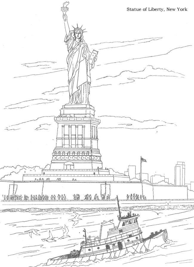 USA 3 coloriages de paysages