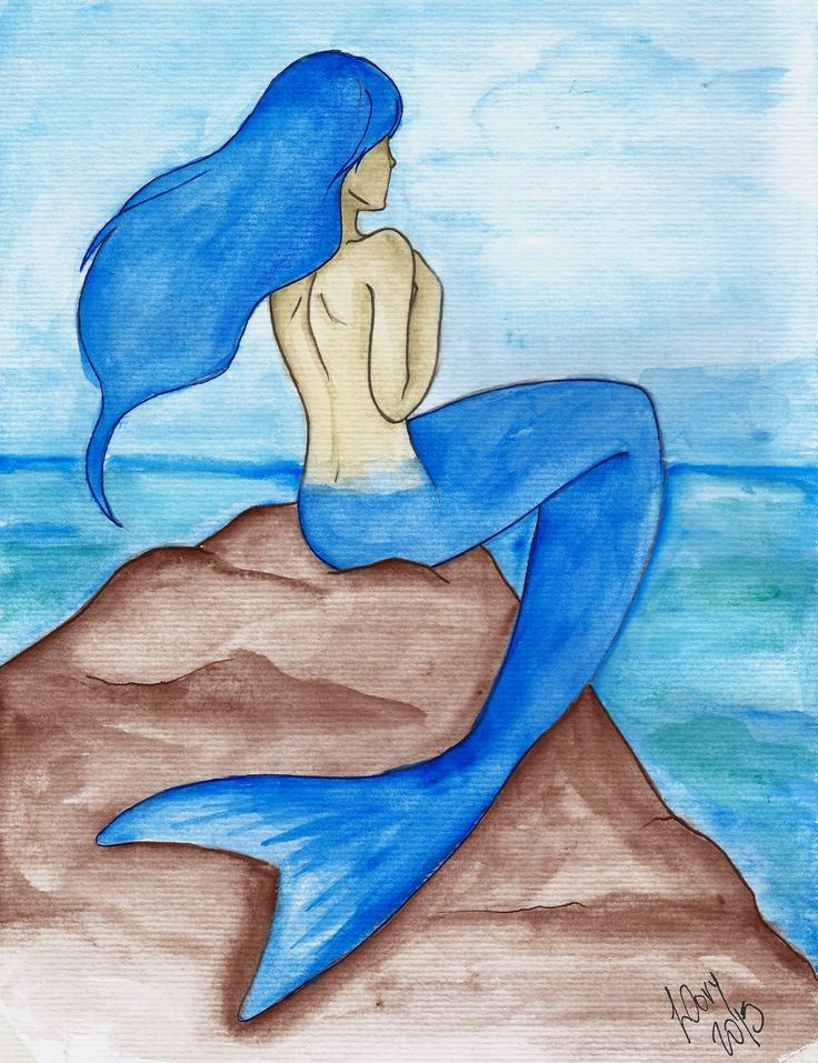Meri, the mermaid