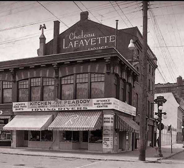 Chateau Lafayette is a Pub, Bar, Live Music, Heritage Building - Ottawa, Ontario, Canada