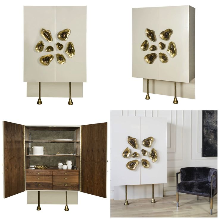 Crescent Cabinet From Kelly Wearstleru0027s #modern #furniture Collection For EJ  Victor