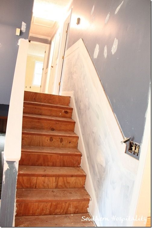 Painted Stairs And Adding Runners Carpets Carpet Stairs