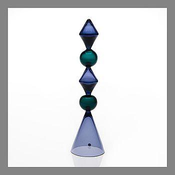 NANNY STILL, GLASS SCULPTURE. Maypole. Designed in 1958.