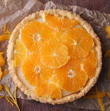 Το καλύτερο επιδόρπιο για μετά από ένα πλούσιο γεύμα ή δείπνο. Η τάρτα με πορτοκάλι και κρέμα ανθότυρου είναι δροσερή ανάλαφρη και λατρεμένη
