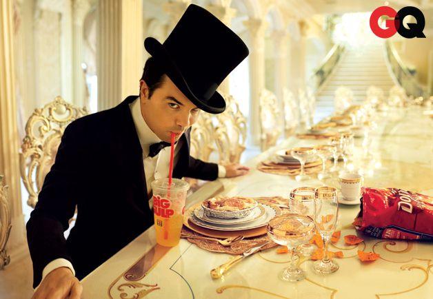 Seth MacFarlane - GQ's Funnyman of 2012: Men of the Year Photo by Peggy Sirota
