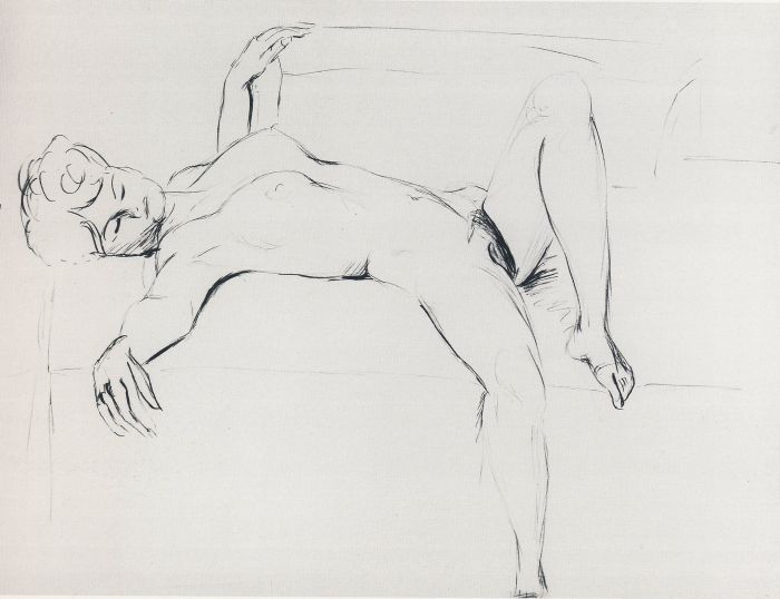 Richard P. Feynman | Ричард Филлипс Фейнман | Reclined Nude