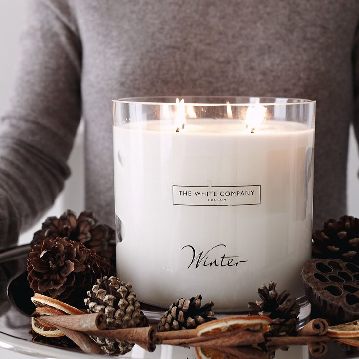 Winter Indulgence Candle | The White Company