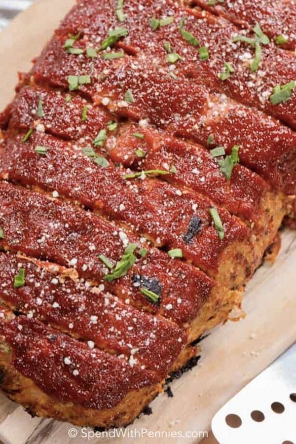 37 Fancy Dinner Recipes You Can Make With A Pound Of Ground Turkey Turkey Meatloaf Recipes Easy Turkey Meatloaf Turkey Meatloaf