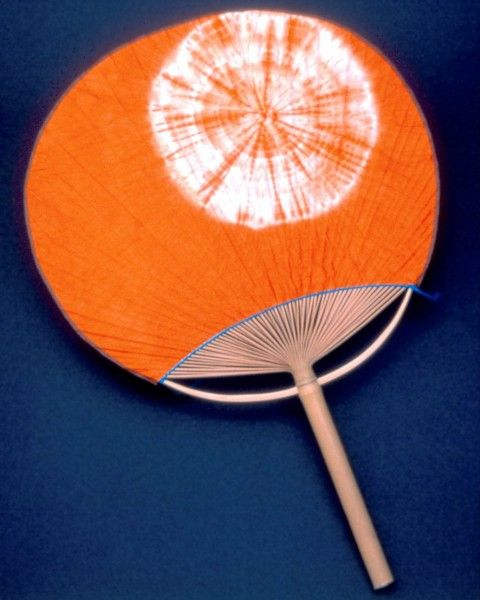 "Hand fan, ""uchiwa"""