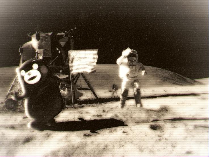KUMAMON@The Moon