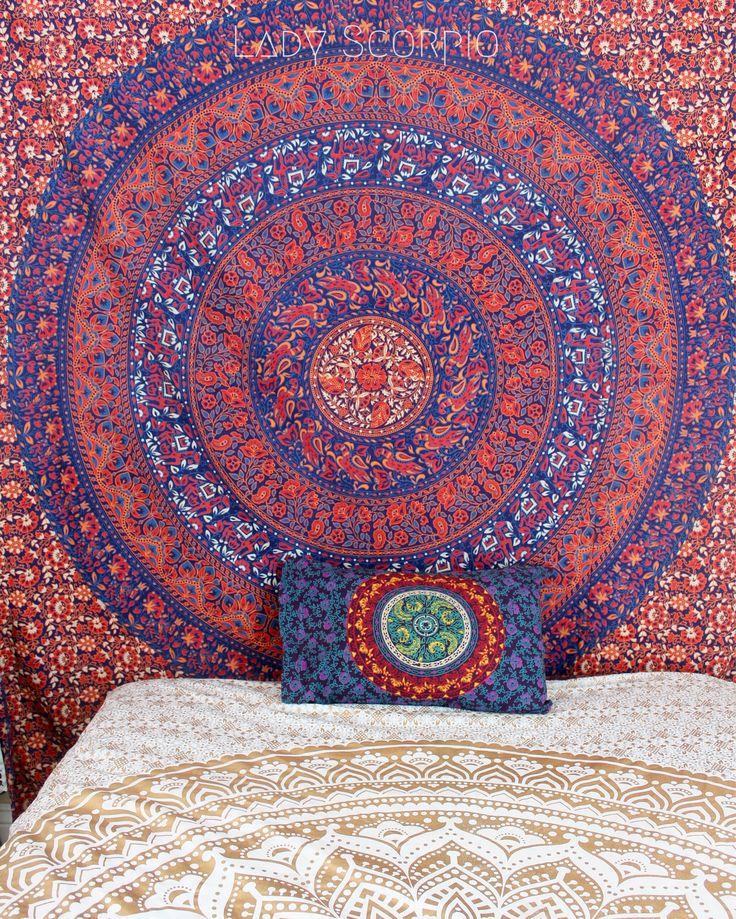 60 best tapestry images on pinterest | mandalas, mandala tapestry