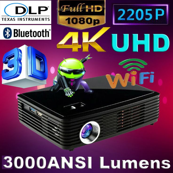 ATCO New Sales 3000Lumens 4K chipset 2205P Android 4.4 smart Blue-ray 3D full hd Mini 3LED Projector Projektor for Smartphones Discounted Smart Gear http://discountsmarttech.com/products/atco-new-sales-3000lumens-4k-chipset-2205p-android-4-4-smart-blue-ray-3d-full-hd-mini-3led-projector-projektor-for-smartphones/