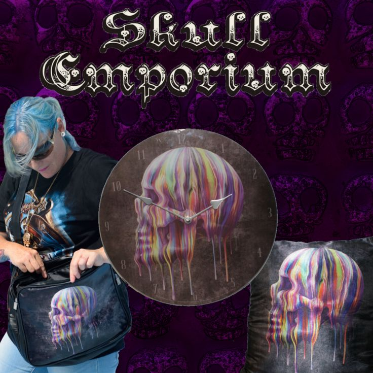 Found a design you love? Get it in a range of goodies sure to please even the most discerning skullie! www.skullemporium.com.au