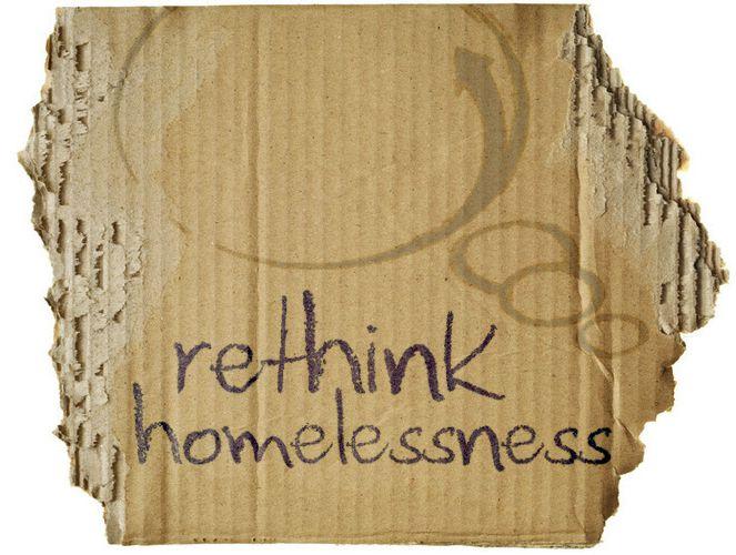 rethink homelessness - suburban homelessness exists...