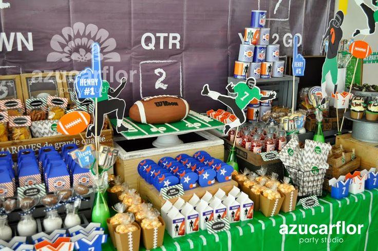 Resultado de imagen para fiesta tematica football americano