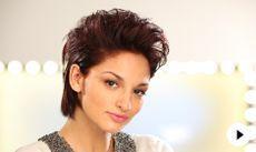 """""""Styling kurze Haare """": Vorschaubild des Videos"""