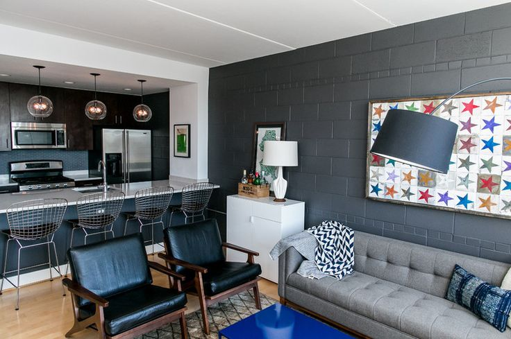 16 best home cinder block wall ideas images on pinterest - Interior cinder block wall ideas ...