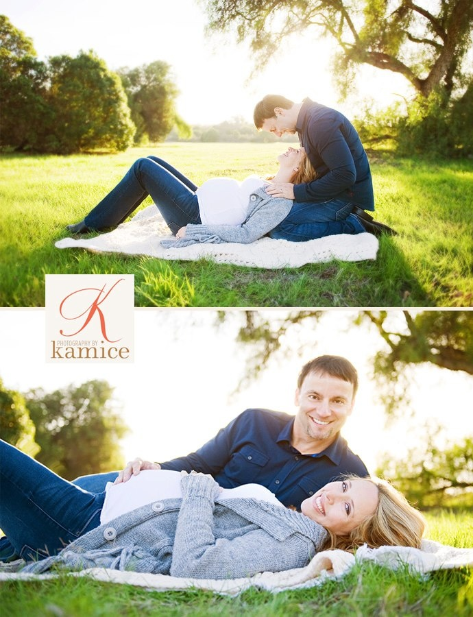 Laying Down Maternity With Husband Poses Photo Photography By Kamice