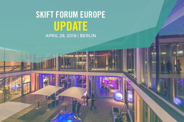 Skift Forum Europe Update: Speakers Venue and Early Bird Tickets  Skift Take: As the year winds down now is the best time to use your end-of-year budget on discounted tickets to Europe's leading travel event!   Rafat Ali  By now youve already heard that next years Skift Forum Europe will be held on April 26th 2018 in Berlin but today we wanted to give you new details on our upcoming event to make sure you knew why you cant afford to miss it!  Skift Forum Europe is unlike any other conference…