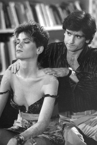 Linda Fiorentino and Griffen Dunne in Martin Scorcese's film After Hours. An incredible black comedy set in NYC 1985.