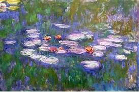 ... Elementary Art Blog: First grade Claude Monet lily pads with frogs