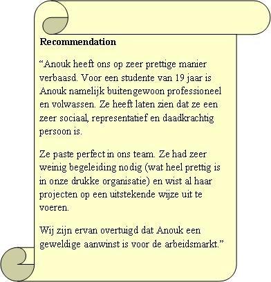 Beoordeling en aanbeveling van Jill Tio, Senior Marketeer & PR bij Uitgeverij De Geus