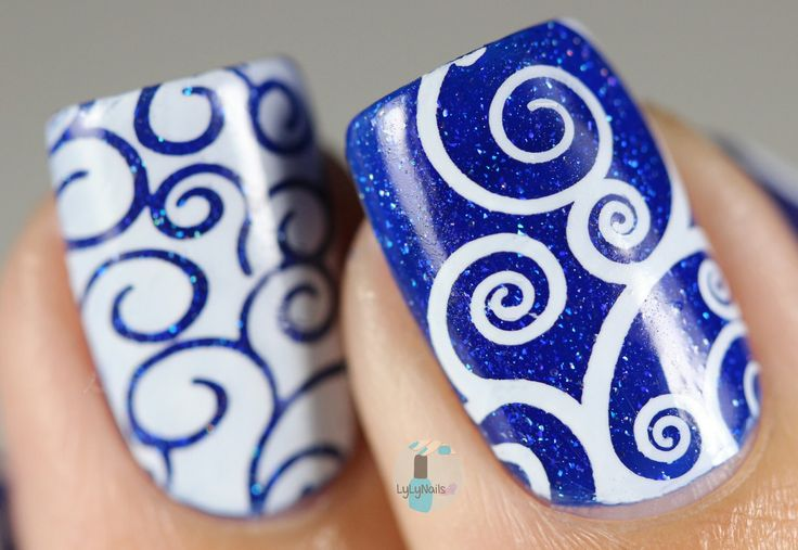 Our Swirls & Twirls (DP03) plate is uniquely designed and curated, featuring fun, edgy patterns that can spice up any manicure! - Our unique designs are approximately 16x20mm and have been designed to