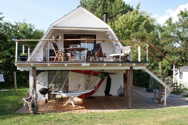 Ferienhaus auf Mön direkt am Strand in Rabylle » Insel Moen Dänemark