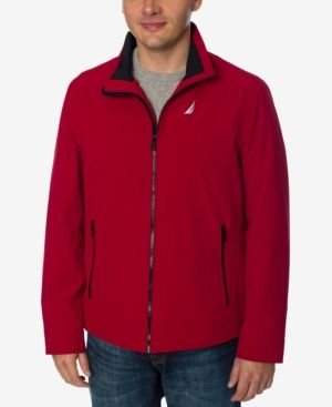 Nautica Men's Big & Tall Stretch Golf Jacket - Red 2XT