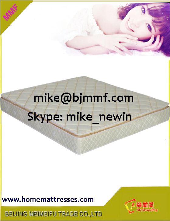 pillow top mattress with poccket spring mattress support system