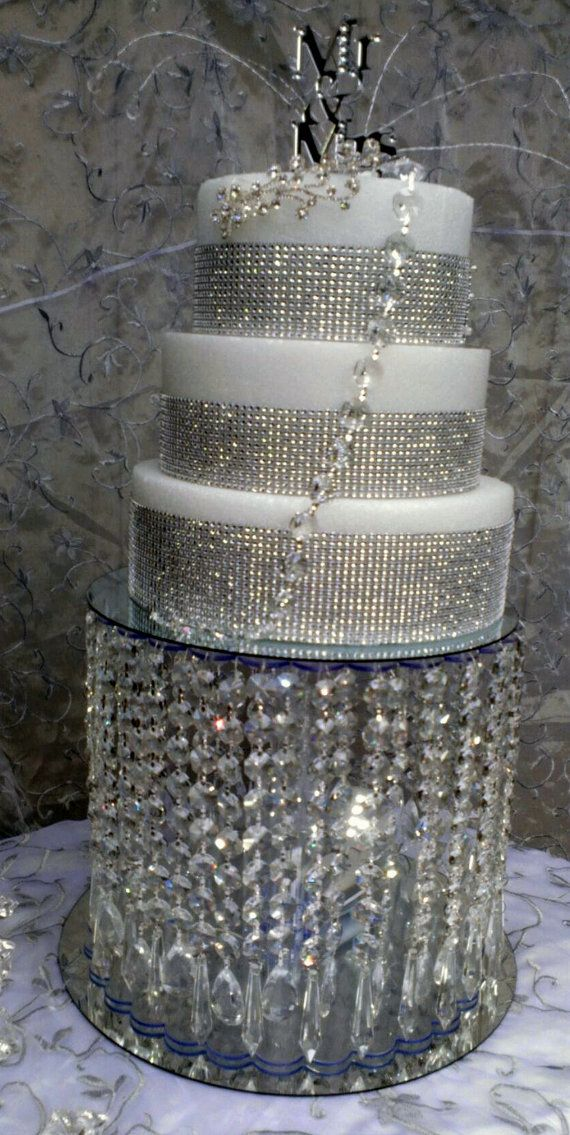 How To Make A Chandelier Cake Stand