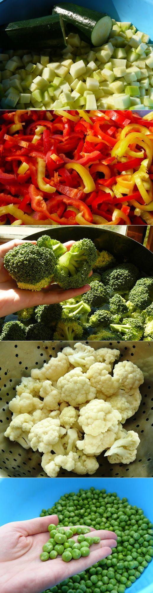 Просто вкусняшка: как заморозить овощи на зиму