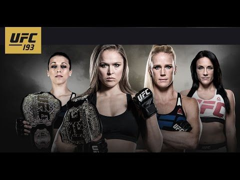 UFC 193 Extended Preview - http://www.lowkickmma.com/News/ufc-193-extended-preview/