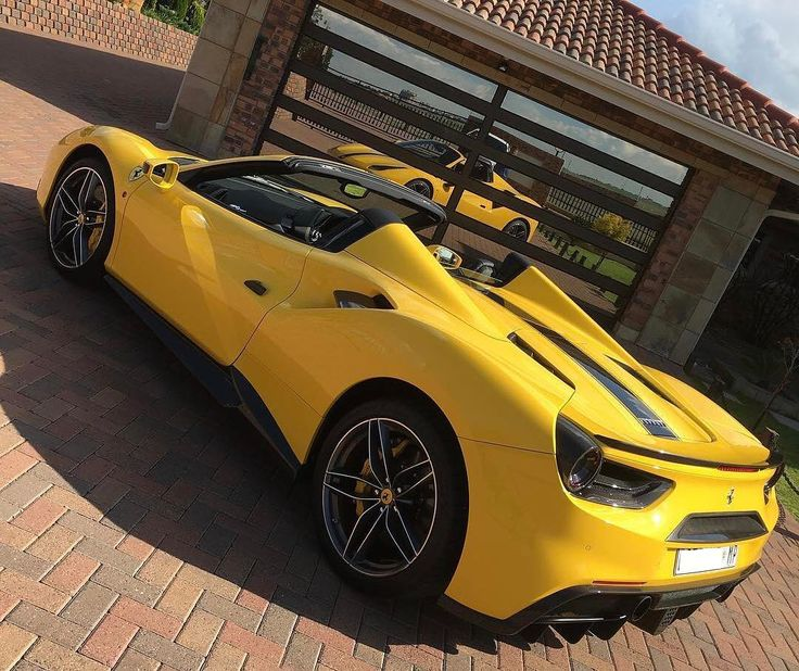 One of the most stunning 488 Spiders in SA  Photo via @bell_4070  #ExoticSpotSA #Zero2Turbo #SouthAfrica #Ferrari #488Spider #Carbon