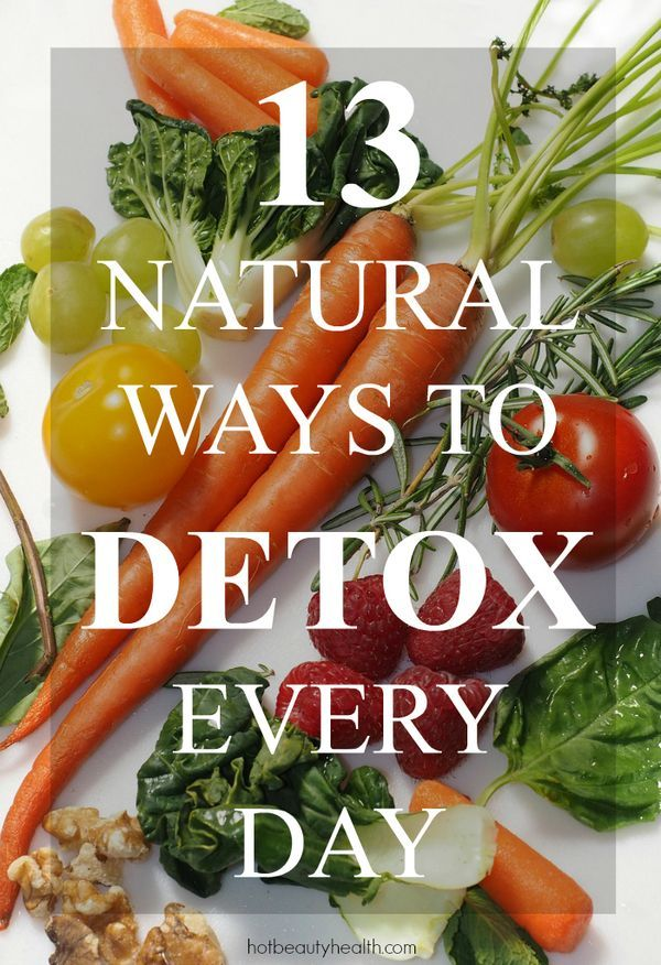 13 Natural Ways to Detox Every Day | Easy, healthy tips to improve your overall health, skin and life. Includes a free printable cheatsheet and checklist to keep track of your daily detox goals.