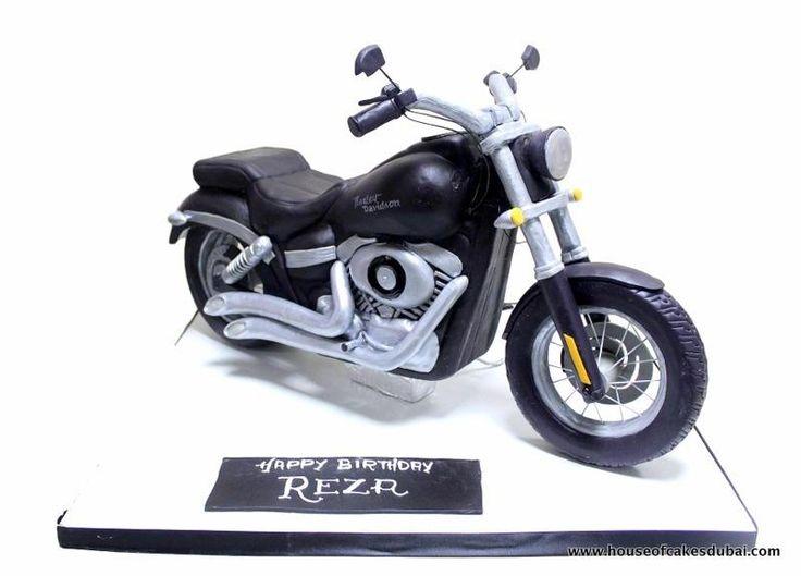 3D Harley Davidson Cake - Cake by House of Cakes Dubai