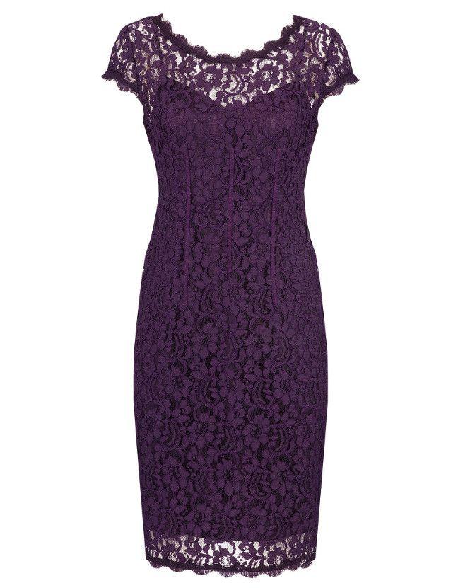 Vintage Bride ~ Anthea Crawford l Imperial Stretch Lace Sheath Dress ~ #vintagebride #vintagewedding #vintagebridemagazine #motherofthebride #motherofthegroom