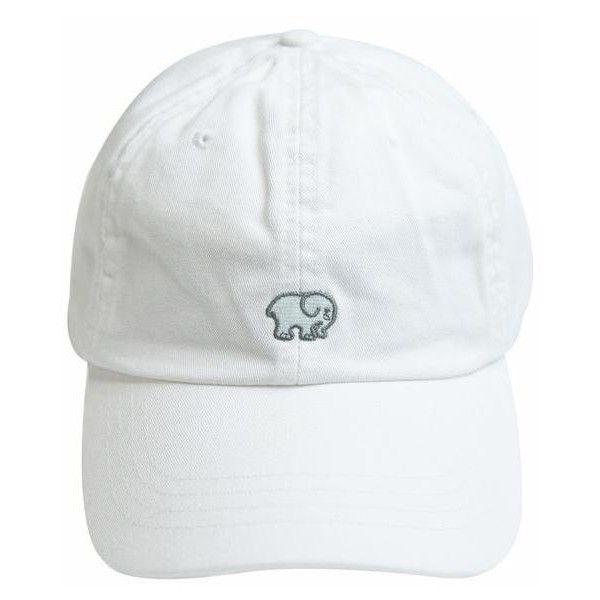 White Ella Baseball Cap ($29) ❤ liked on Polyvore featuring accessories, hats, baseball cap hats, ball cap, adjustable baseball hats, embroidered baseball hats and white hat