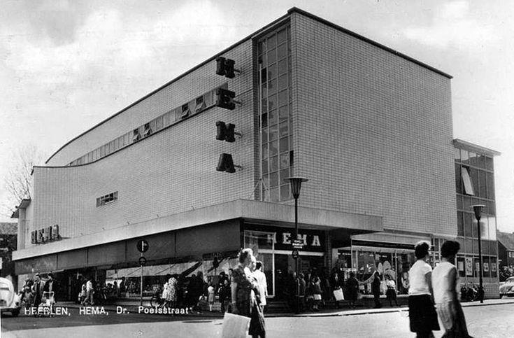 Hema, Dr.Poelsstraat ca 1960.  (Nu is hier Randstad uitzendbureau gevestigd)