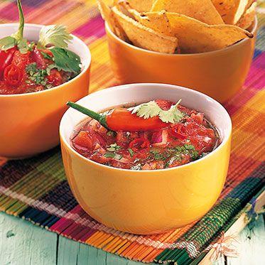 Mexikanische Tomatensalsa Rezept | Küchengötter