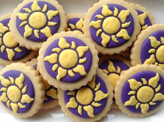Enrolados (Tangled), cookies, biscoitos decorados | by Cookie Design