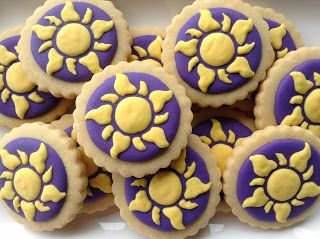 Enrolados (Tangled), cookies, biscoitos decorados | by Cookie Design