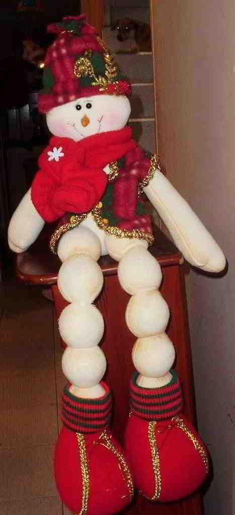 Muñeco de nieve Albondiga