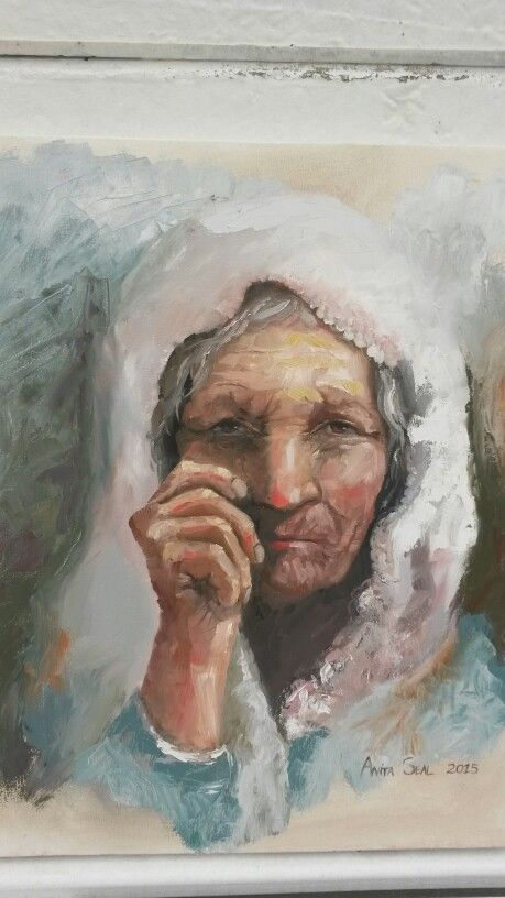 Old Lady by Anita Seal