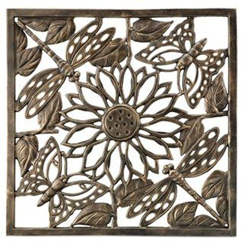 Butterfly and dragonfly garden wall plaque 143 hayneedle