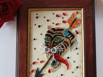 Tigre old school  3 / mosaico / tattoo art