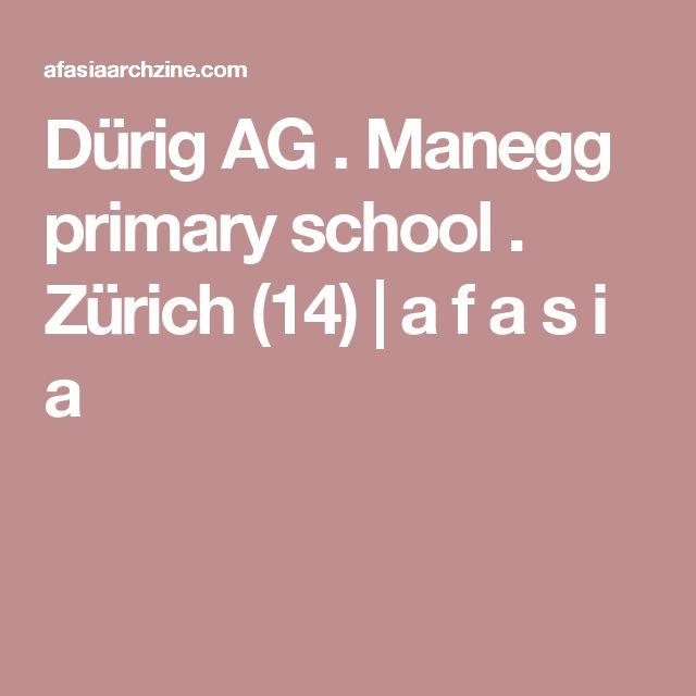 Dürig AG . Manegg primary school . Zürich (14) | a f a s i a