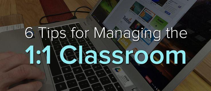 6 Tips Managine 1 To 1 Classroom