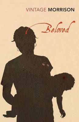 Toni Morrison, Beloved. Vintage bookcover? Giving me the chills.