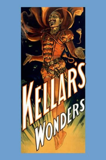 Kellar's wonders 28x42 giclee on canvas